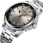 New CURREN 8320 Business Style Stainless Steel Men Wrist Watch
