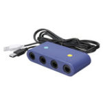 New 3 In 1 GC Converter NGC Game Controller Adapter GameCube Computer Cable for Nintendo Switch WII U PC