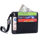 New Genuine Leather 6 Card Slots Card Holder Wallet For Men