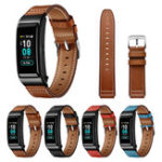 New Bakeey Genuine Leather Watch Strap Smart Watch Band for Huawei B5 Smart Watch
