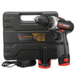 New NW-12CN-2 12V Electric Screwdriver 2 Speed Power Drills Lithium Battery Power Screw Driver Tools W/ 1 Or 2 Batteries