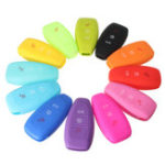 New Silicone 3-Button Remote Key Fob Case Cover for FORD FOCUS MONDEO KUGA FIESTA FUSION