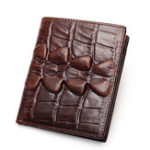 New Genuine Leather Vintage Alligator Pattern Wallet For Men