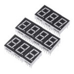 New 10pcs Red 1.8V 7 Segment 0.56 Inch 1 Bit Common Anode LED Digital Tube Board