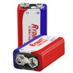 New RYDBATT 9V 500mAh Rechargeable Lipo Battery