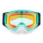 New Bright Green Motorcycle Anti-UV Dust Racing Goggles Glasses Motocross ATV Dirt Bike Off Road