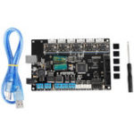 New TriGorilla Mainboard Motherboard + 5x A4988 Driver With USB Cable Kit For Kossel Prusa i3 Corexy 3D Printer