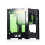 New NEJE DK-8-KZ 3000mW 445nm Blue Laser USB Desktop Engraver Engraving Machine Intelligent APP Scanner Windows System
