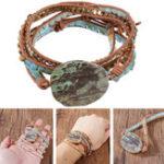 New Bohemian Stone Crystal Bracelet