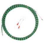 New 5mm Flexible Fiberglass Cable Puller Handy Wire Electrical Tool Fish Tape 5m/10m/15m/20m/25m/30m/35m/40m