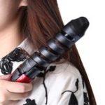 New Kemei Spiral Curling Iron Wand Hair Curler