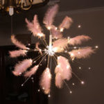 New LED Firework String Hanging Starburst Fairy Strip Light Wedding Party Home Decorations