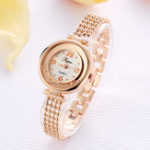 New LVPAI P132 Elegant Design Shining Women Bracelet Watch