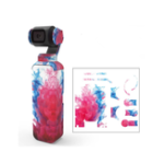 New Colorful/Camouflage Decals Camera Protective Film Skin Waterproof Stickers For DJI OSMO Pocket Handheld Gimbal Accessories