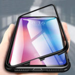 New Bakeey 360° Magnetic Adsorption Metal Tempered Glass Flip Protective Case for Xiaomi Mi 9 / Xiaomi Mi9 Transparent Edition