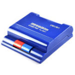 New Deli 9850 Semi-Automatic Dual-Color Quick-Drying Financial Office Stamp