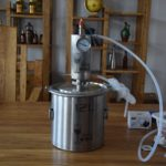 New 12/20L Distillation Barrel Stainless Steel Household Alcohol Distiller Home Brew Fermentor