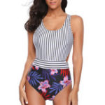 New One-Pieces Ladies Slim Skinny Swimwear