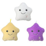 New LED Light Star Stuffed Plush Cushion Sofa Pillow Glow Kid Toy Gift Home Decor UK