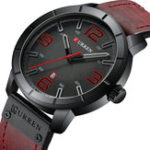 New CURREN 8327 Casual Style Date Display Men Wristwatch