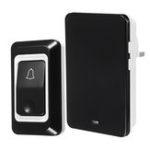 New 28 Chimes 3 Volume 50M Wireless Doorbell Door Bell  Waterproof Dustproof LED Dingdong