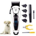 New Pet Clipper Rechargeable Pet Cat Dog Electric Trimmer Hair Cutter Shaver Grooming Tool Kit