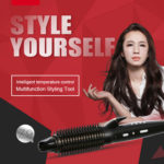 New Riwa Z9 3 in 1 Ceramic Coated Flat Iron Hair Styling Tools
