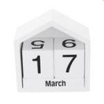 New Wooden Block Calendar House Decoration Creative Desktop Ornaments
