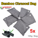 New Air Purifier Bag Car Home Bamboo Charcoal Dehumidifier