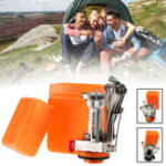 New 3000W Outdoor Portable Mini Gas Stove Butane Propane Canister Cooking Burner Camping Picnic Furnace