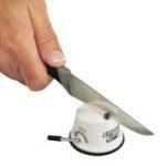 New Household Professional Non-slip Sharpener Sharpen Stone Kitchen Secure Suction Sharpener Grinder
