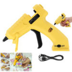 New NL-220 8W Cordless Hot Melt Glue Heater Car Repair Graft DIY Tool USB Rechargeable Li-ion Battery Charging Lightweight