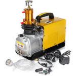 New 220V High Pressure Air Compressor Pump 40Mpa Electric Air Pump 4500PSI 1.8KW Diving Inflatable Pump