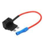 New V-ACU Add A Circuit Fuse Tap Car Mini Micro Blade Fuse Box Holder Low Profile