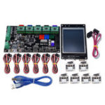 New MKS-GEN V1.4 Controller Mainboard+MKS TFT32 LCD Display+6Pcs Limit Switch+5Pcs 4988 Driver Kit For 3D Printer