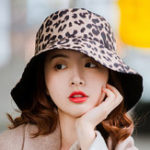 New Men Women Cotton Leopard Double-Sided Wear Fisherman Hat