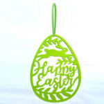 New Hanging Ornament Easter Eggs Bunny Pendant Egg Shape Gifts Wall Door Decorations