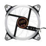New 12CM 3Pin 4Pin Computer Case PC Cooling Fan Heatsink Cooler RGB Led Lights Fan