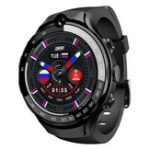 "New LOKMAT LOK 02 4G LTE 1+16G Dual HD Camera Dual GPS Positioning Smart Watch Phone 1.39"" AMOLED Screen Optical Heart Rate Monitor Multiple Sports Modes Fitness Smart Bracelet"