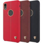 New NILLKIN PU Leather Shockproof Hard PC Back Cover Protective Case for iPhone XR