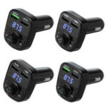 New Hands Free MP3 Music USB Micro SD bluetooth FM Car Transmitter Charger