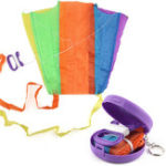 New 15 Inches Kids Mini Kite Pocket Toy Ready To Fly Outdoor Play Toy Gift