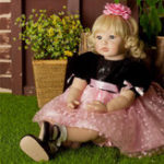 New NPK Reborn Doll High-end Vinyl Silicone Toy Collection Princess Doll Birthday Holiday Gift Bedtime Playmates