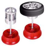 New Portable Hubs Wheels Tire Balancer Bubble Level Heavy Duty Rim Car Tire Wheel Balancer Auto Tyre Balancing Machine