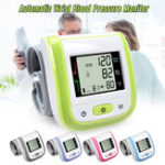 New Multifunction Digital Blood Pressure Monitor Wrist Heart