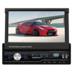New T100G 7 Inch Navigation Telescopic Car MP5 Player Card Machine Car MP4 Player
