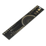 New 20cm Multifunctional PCB Ruler Measuring Tool Resistor Capacitor Chip IC SMD Diode Transistor Package 180 Degrees