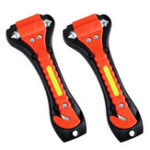 New Car Safety Hammers Emergency Escape Tool With Car Window Breaker And Seat Belt Cutter