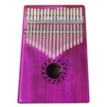 New IRIN 17 Keys Mahogany Kalimba Wooden Thumb Piano Finger Percussion