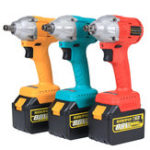 New 88V Brushless Cordless Wrench 10000mAh Electric Wrench 520Nm Lithium Battery Wrench Tool